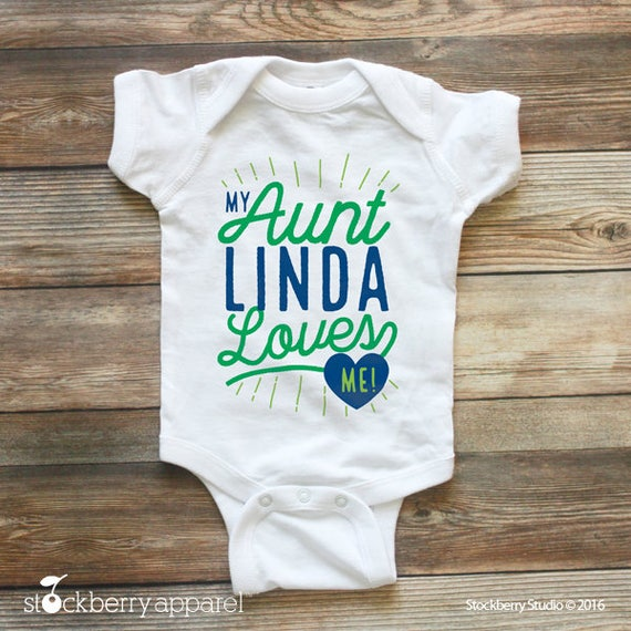 My auntie loves me shirt my aunt loves me custom baby like this item negle Image collections