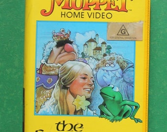 The Frog Prince - Muppet Movie - beta cassette