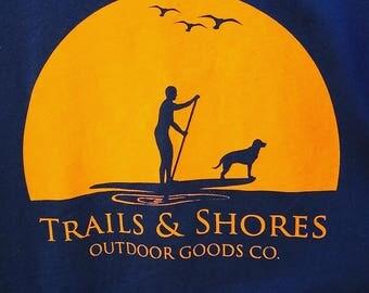 Trails & Shores SUP Shirt