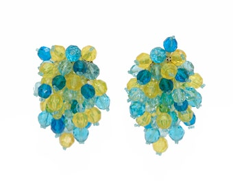 Coppola e Toppo clip on earrings clusters
