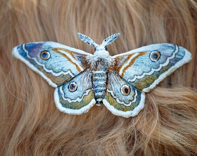 Night Saturnia Hair Jewelry