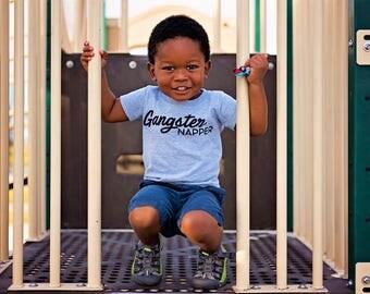 Gangster Napper - Toddler Shirt - Funny Boys Shirt - Toddler Clothes - Toddler Tshirt - Kids Shirt - Boys Shirt - Funny Kids Shirt - Toddler