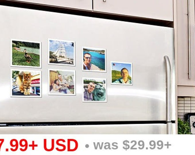"75х75 mm | Set of 24 photo magnets. 2.95""х2.95"" 