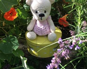 Teddy bear girl, cotton teddy bear, tiny teddy,