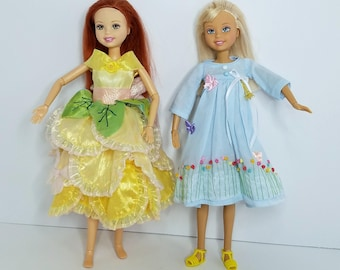 Custom Liv-Wee 3 Friends Dolls with Clothes_OOAK_Spin Master