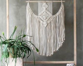 EXTRA LARGE Macrame Wall Hanging, Macrame Wall Hanging, Boho Wall Decor, Wall Hanging Tapestry, Macrame Wall Art, Scandinavian Modern