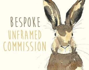 Unframed Original illustration Commission