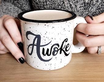 A-woke Mug