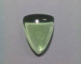 Green Amethyst Cabochon