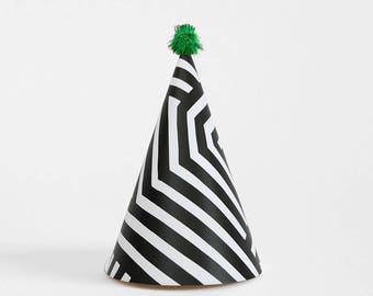 Printable Striped Party Hat