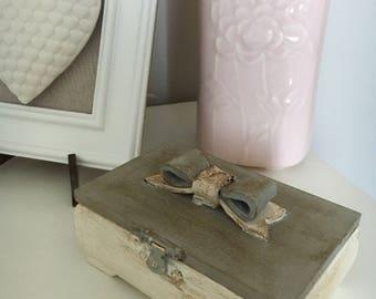 Small Jewellery Box (Grey)