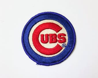 Chicago Cubs - Vintage Patch for Jackets, Backpacks, Jeans/Clothing, Costumes, Crafts