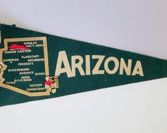 Arizona - Vintage Pennant