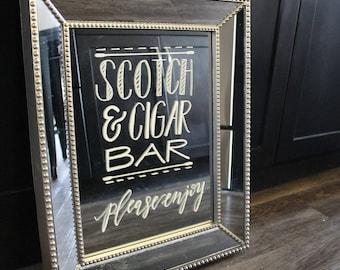 Custom Mirror Sign (Medium)