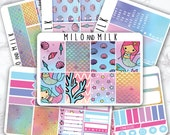 Magical Mermaid (6 Sheet Full Kit) | ECLP Compatible | Planner Stickers