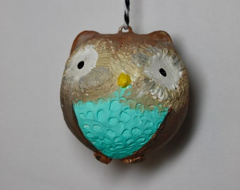 Turquoise Realness Owl