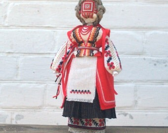 Motanka Handmade Ukrainian Ethnic Folk Traditional  Doll Unique decorative gift with meaning for her, Gift for Family Christmas, OOAK