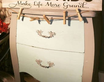 Rustic Grandkids sign, granparents, picture display, grandparents day, grandparents gift, wood grandkid sign