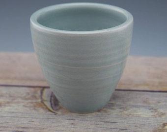 Small Bonsai Pot, Succulent Planter, Handmade Ceramic Planter, Plant Pot, Porcelain, Wheelthrown