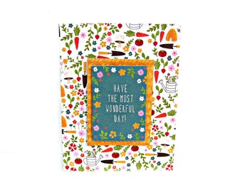 encouragement card, encouragement cards, friendship card, friendship cards, card for friend, just because card, friend card, garden card,