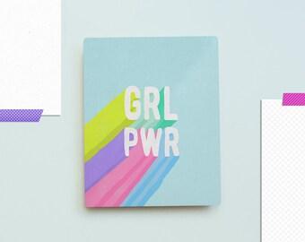 GRL PWR Metal Art Print