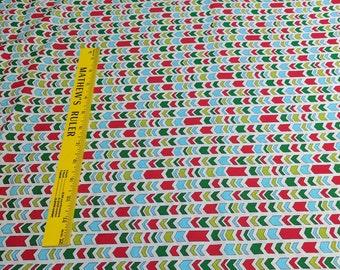 Ho! Ho! Ho!-Arrows Cotton Fabric Designed by Deb Strain for Moda Fabrics