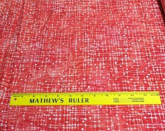 Color Source 5-Red Data from Artisian Batiks for Robert Kaufman Fabrics