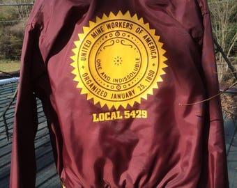 UMWA jacket united mine workers of america