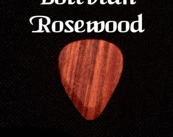 Tone Wood Guitar Picks - Bolivian Rosewood