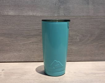 Ready to Ship! Seafoam Green Powder Coated Ozark Trail 20 oz. Tumbler - Stainless Steel Tumbler - Laser Engraved Tumbler - Custom Gifts