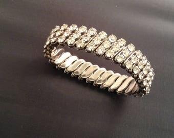 Vintage Rhinstone Bracelet