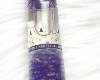 CRYSTAL INFUSED MENSTRUAL Relief/Monthly Blend/Cramp Blend/Tension Blend/Cramp Relief/Pain Relief Oil
