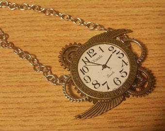 Winged Clock