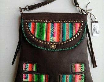 Portfolio leather shoulder hand made / / leather shoulder / / shoulder bag design / / leather / / Original portfolio