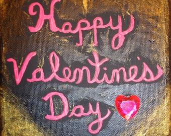 Happy Valentine's Day Painting