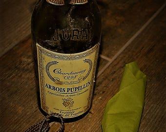 Vintage Brass metal bows - bottle decorations - napkin/serviette rings