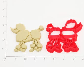 Poodle Cookie Cutter Poodle Birthday Poodle  Party Poodle  Baby Show Poodle  Cupcake Poodle  Gift