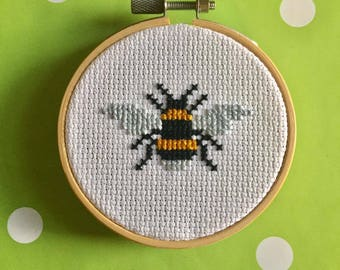Manchester Worker Bee Cross Stitch