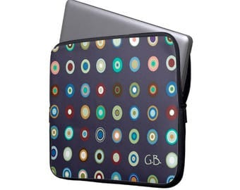 personalized laptop case Neoprene Laptop Sleeve  MacBook Case abstract computer Case for men Laptop Bag laptop cover custom computer case