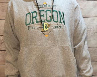 Vintage UO University of Oregon Ducks Sweatshirt with donald duck disney logo