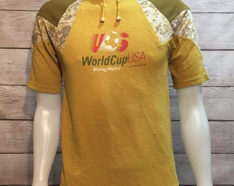 Rare Vintage Fifa World Cup Shirt sweatshirt jersey. Usa World Cup futbol. USA Soccer