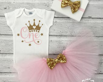 First Birthday Outfit Girl, First Birthday Onesie, Girls Birthday Onesie, Girls Birthday Outfit