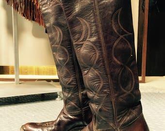 1977 Stewart Cowboy Boots