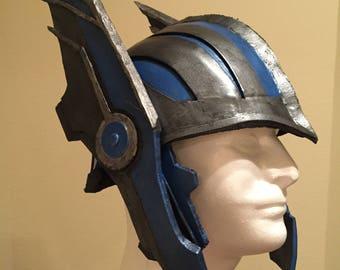 Thor Ragnarok Helmet w/ Rotating Wings  Custom Fit Cosplay
