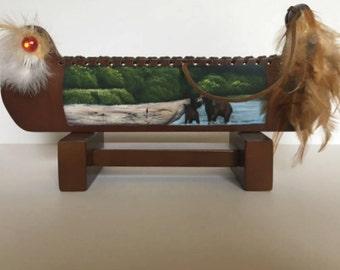 Free Shipping - Vintage Canoe Decor