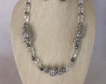 Prom Night Necklace Earring Set