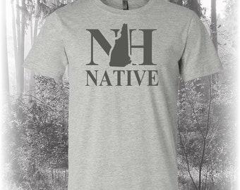 New Hampshire Native Shirt, Native New Hampshire Shirt, New Hampshire Shirt, NH Shirt, New Hampshire State Shirt