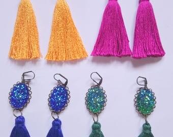 Earring tassel,  gift for women
