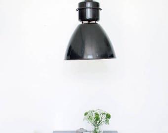 old industrial lamp.Industrial designer vintage industrial lamp, factory lighting, pendant light, industrial lighting