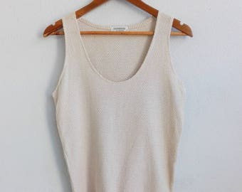 Knitted Tanks Japanese Vintage/ Vintage Clothing